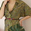 Thumbnail: 70s Vintage Midi Paisley Dress in Green