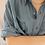 Thumbnail: 90s Vintage Silk Shirt in Aegean Blue