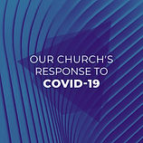 Our Churchs Response To Covid 19 Blue Sh