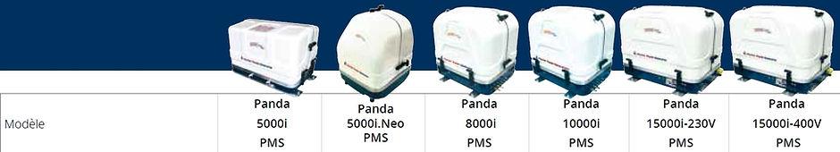 GROUPE ELECTROGENE marine fischer panda