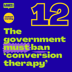 The government must ban conversion therapy