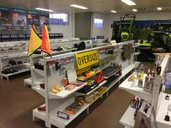 inside the shop - JJ Farm Equipment