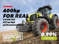 Finance - 400hp For Real - Axion 950