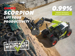 Finance - CLAAS - Scorpion Lift Your Productivity