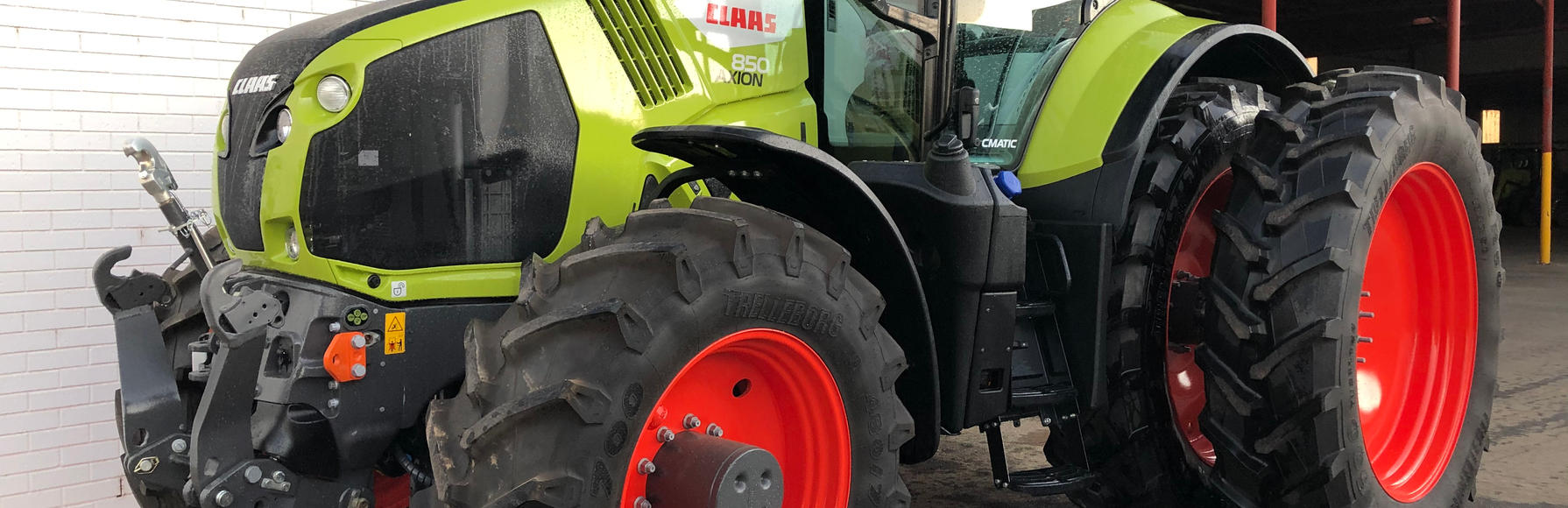 1x ONLY - NEW Claas Axion 850