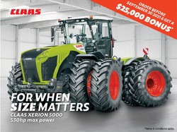 finance - CLAAS - Xerion 5000