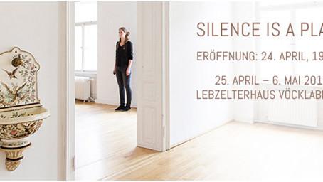"""Katharina Acht Einzelausstellung """"SILENCE IS A PLACE"""" im Lebzelterhaus Vöcklabruck"""