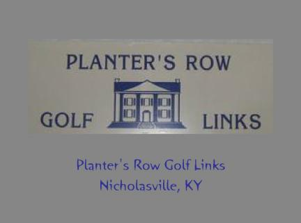 PLANTERS ROW GOLF COURSE