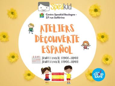 Ateliers Español avec Speakid :) 🇪🇸