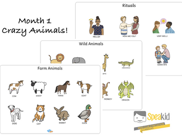 Theme of the month: Crazy Animals!