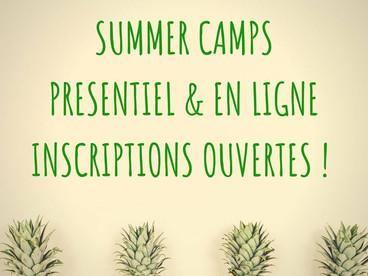 SUMMER SCHOOL - Le programme complet des stages d'été!