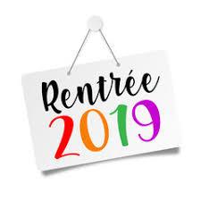 RENTREE 2019 - Les news!