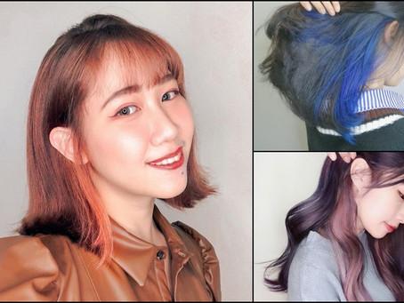 給我最性感的髮色!?『耳圈染的小心機』#絕對領域 色彩不設限!