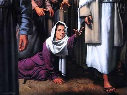el borde del vestido de Jesús