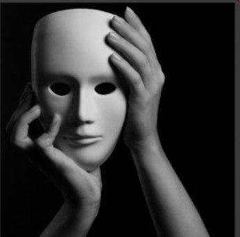 Máscara del cristiano