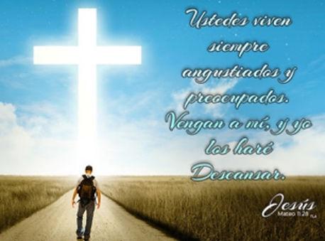 La cruz de Cristo el camino