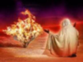 Dios llama a Moises