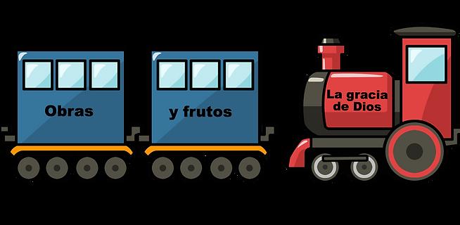 El tren del Evangelio, tren de Dios, el evangelio de Cristo.