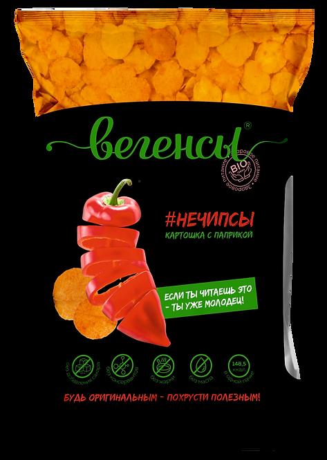 """Картофель сушёный """"Нечипсы картошка с паприкой"""""""