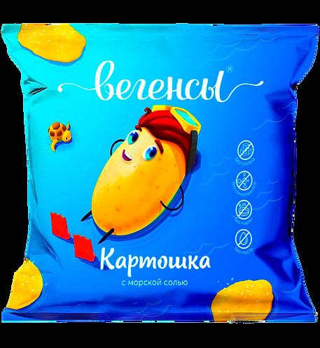 """Картофель сушёный """"Картошка с морской солью"""""""