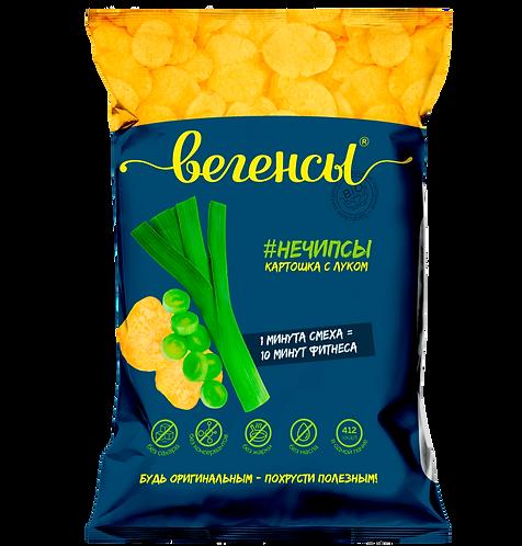 """Картофель сушёный """"Нечипсы картошка с луком"""""""