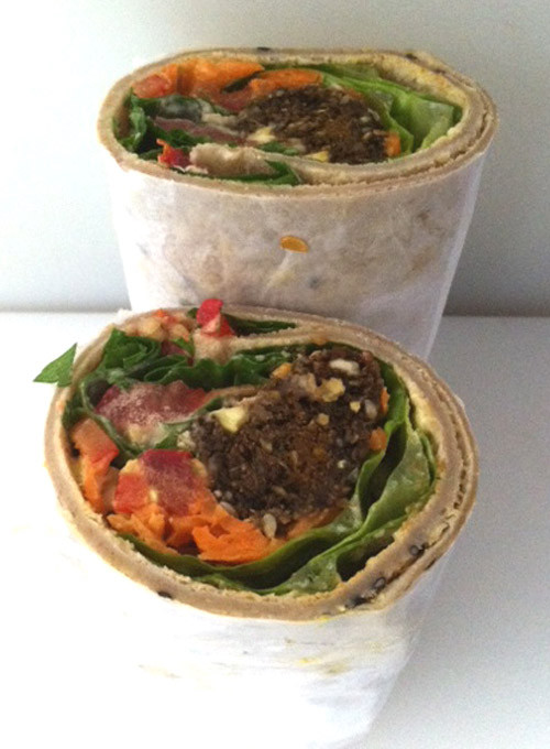 Falafel Roll - Gluten Wheat and Dairy free