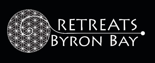 retreats BB white on black centre surrou