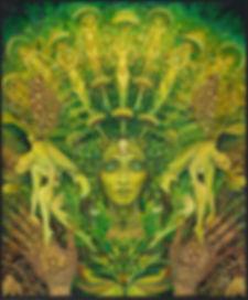 The Dryad by Mythological Goddess Art by Emily Balivet
