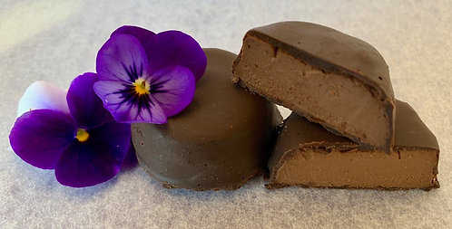 Raw Chocolate Mousse Rounds
