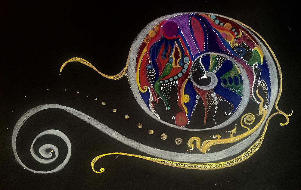 Fibonacci Timeloop  by Vicki Veranese