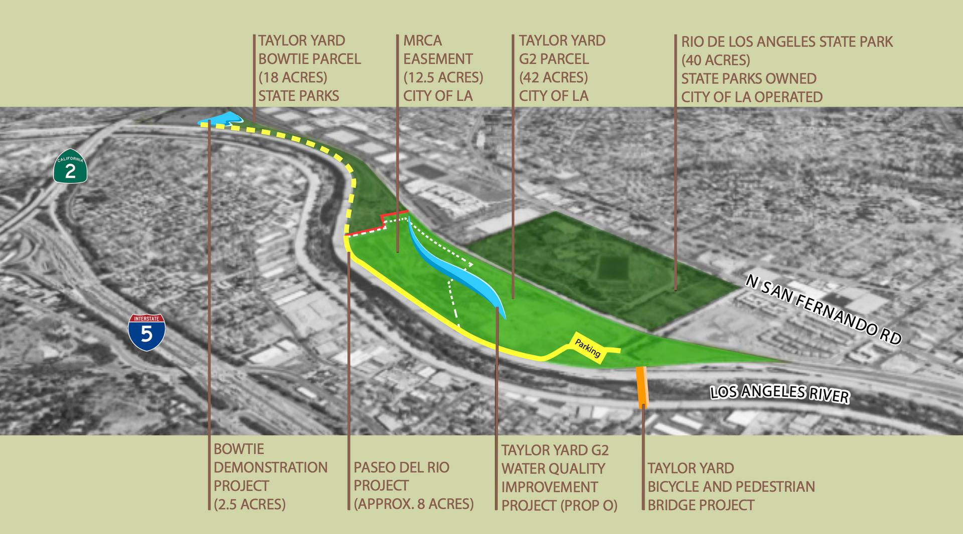 แผนที่ Taylor Yard Parcel