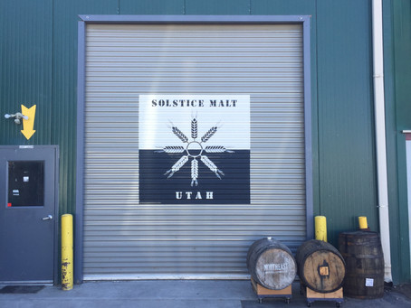 Utah Farm to Utah Glass: Solstice Malt
