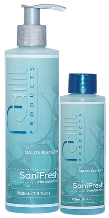 In een handomdraai hygiënisch schoon en frisse handen. SaniFresh Gel is een desinfecterende handgel met een sterk antimicrobiële werking zonder een plakkend gevoel na te laten.