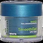 Een perfecte, intens witte French manicure smile-line wordt gecreëerd met SmoothGel white. Eenvoudig te verwerken tijdens de afwerking, wordt als een lak verwerkt en bied hierdoor geen stevigheid. Voor zeer snelle French nabehandelingen. Ook geschikt voor gel pedicure.Uitharding: UV = 2 min. LED = 1 min.