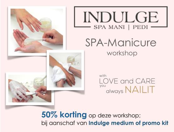 Indulge SPA Manicure workshop - social p