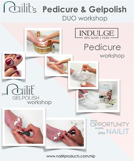 DUO workshop - Pedicure & Gelpolish soci