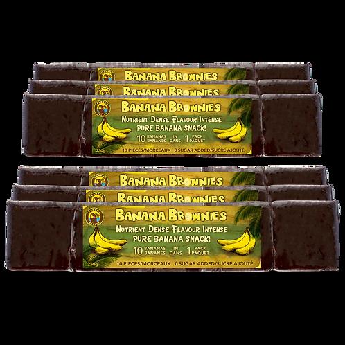 Banana Brownies Just Banana 250g | 6 Pack