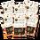 Thumbnail: Banana Smoothie Bowl Bars w/ Coconut & Sesame Seeds 120g | 6 Pack