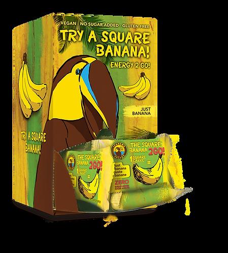 The Square Banana 2Go! 48x25g | Just Banana