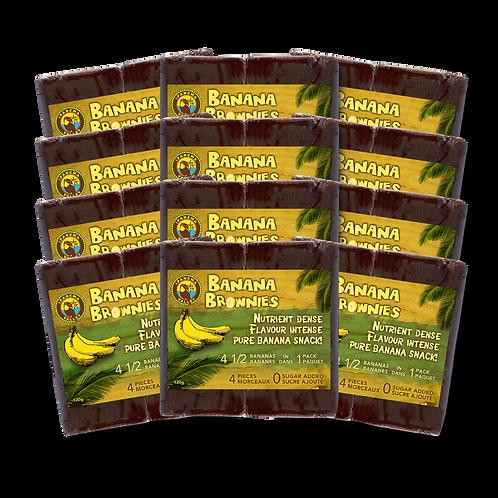 Banana Brownies Just Banana 120g | 12 Pack