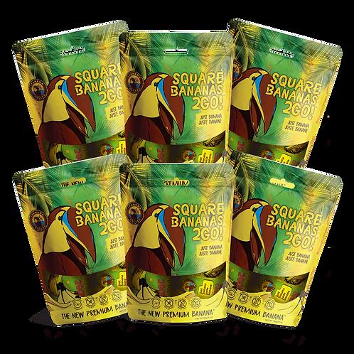 Square Banana 2Go! Just Banana 150g | 6 Pack