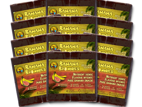 Snack Time! Healthy Banana, Pineapple and Guava Snacks to Keep You Going All Day