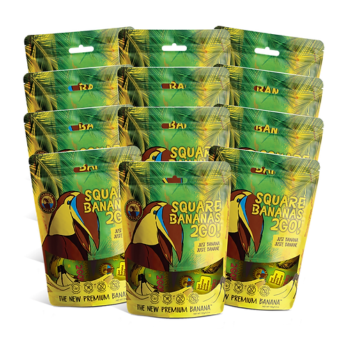 Square Banana 2Go! Just Banana 150g | 12 Pack