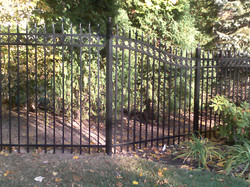 Estate Fence- Sweep