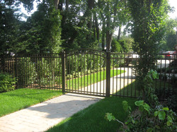 Bronze with Arched Gate
