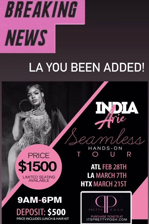 LA Hands On Hair Class Deposit - 7 March
