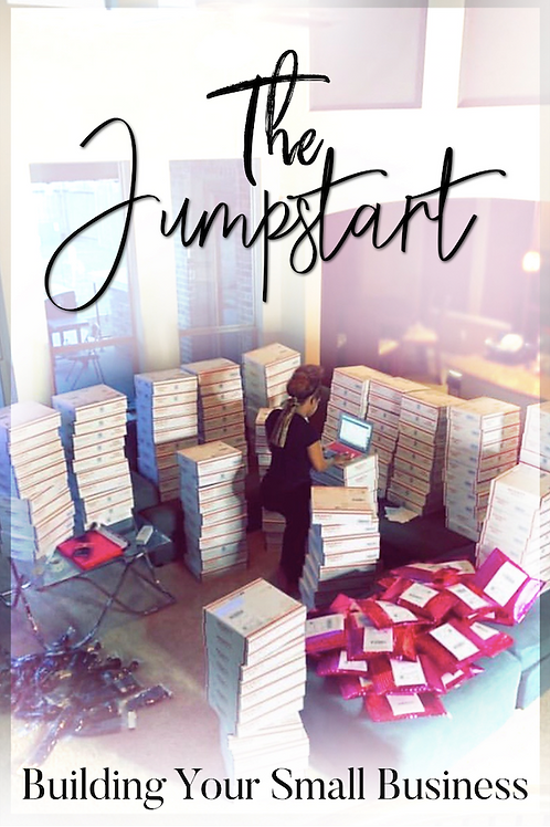 eBook - The Jumpstart:  Building Your Small Business