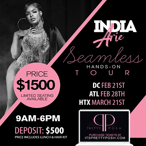 Houston Hands On Hair Class Deposit - 21 March