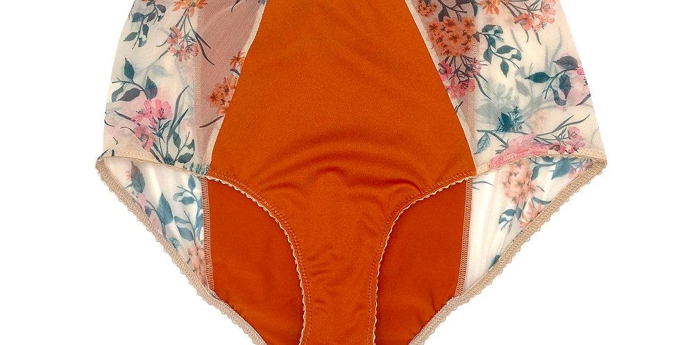 Taille Haute dalia et abricots