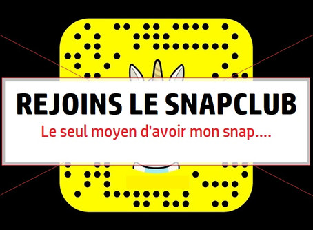 Mon Snap top secret 🤫🔥